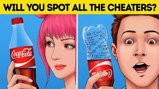 WHO'S CHEATING? RIDDLES AND BACK TO SCHOOL HACKS!