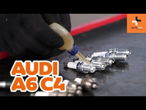 How to replace spark plug Audi A6 | Tutorial HD