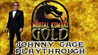 Mortal Kombat Gold Johnny Cage Playthrough (Difficulty : Ultimate) HD 60fps