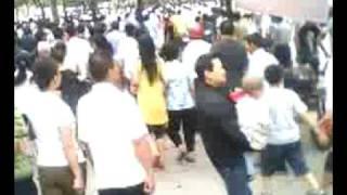 石首市警民對抗情況