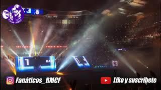 FANS RMCF - Celebración en el Bernabéu (Euroliga y Champions League)