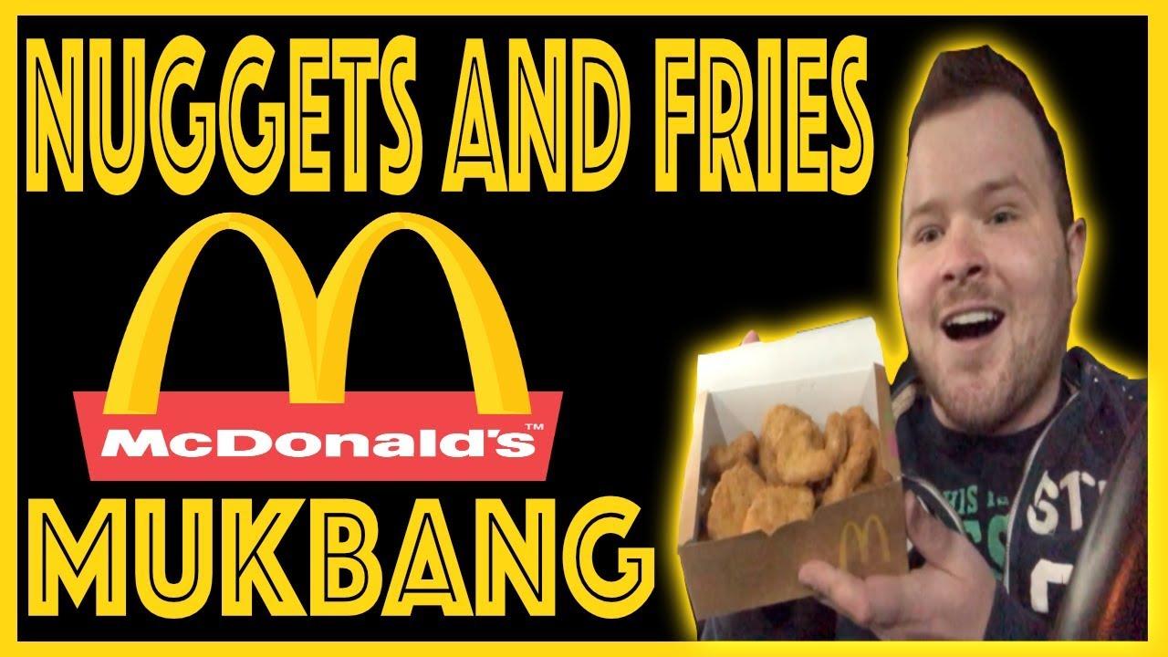 Mcdonalds Nuggets And Fries Mukbang