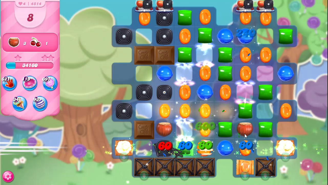 Download Candy Crush Saga Level 4814 NO BOOSTERS