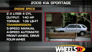 2008 Kia Sportage Test Drive