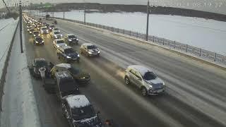 Авария на Октябрьском мосту Череповца