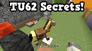 Minecraft Xbox 360 / Switch - TU62 Secret Features