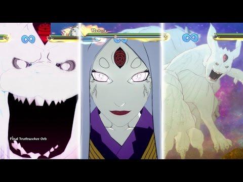 Naruto Shippuden: Ultimate Ninja Storm 4 -Kaguya Otsutsuki All Moveset,Awakening,Ultimate Jutsu