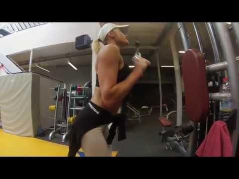 David Costa - Fitness Model - Training avec Céline Fogal au Battling Club Paris