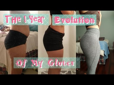 Build a Booty || My 1 Year Glute Progress
