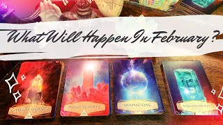 Pick a Card 🔮 February Predictions | What Will Happen ? Love ? Career? Charms ✨