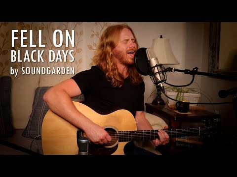 """""""Fell on Black Days"""" by Soundgarden - Adam Pearce (Acoustic Cover)"""
