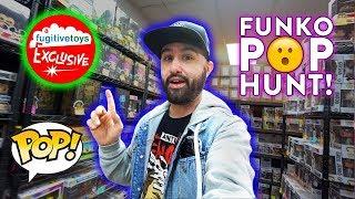 HUGE Funko Pop Hunt At Fugitive Toys!