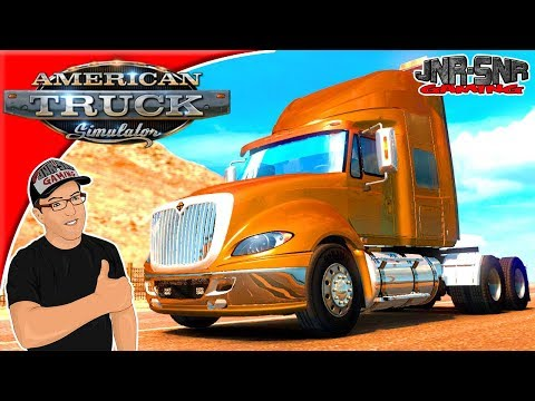 American Truck Simulator Mods International Prostar Sencillo Mod Review