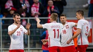 Skrot meczu Polska 5-0 Finlandia