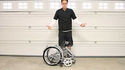 See the Mobic aluminum folding bike in action