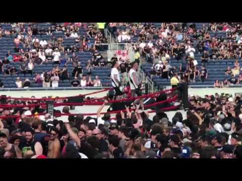 Volbeat Pool of Booze,Booze,Booza 7/5/17 Camping World Stadium.
