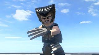 LEGO Marvel Superheroes - DAYS OF FUTURE PAST WOLVERINE FREE ROAM GAMEPLAY (MOD SHOWCASE)