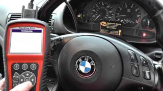 BMW E46 Airbag Light Be Gone Autel MD802