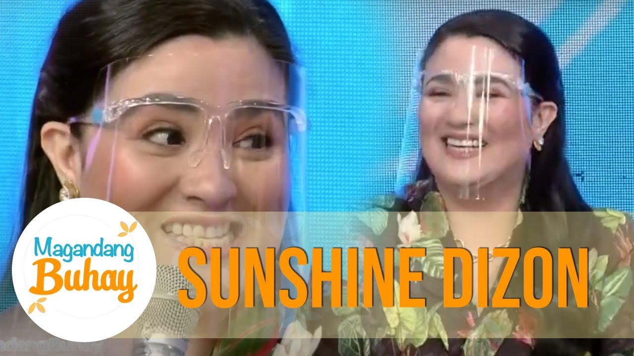 Sunshine was 3 years old when she got her first project | Magandang Buhay
