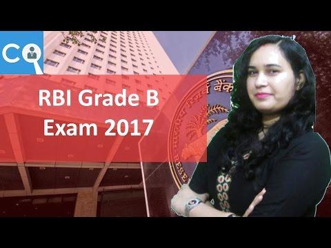 RBI grade B Recruitment | Details | Books