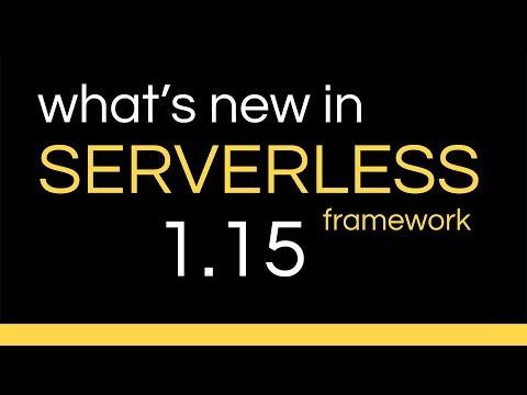 Serverless v1 15 - CLI autocomplete & Cognito User Pool trigger
