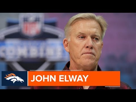 John Elway Focusing on the 2019 NFL Draft Class | Denver Broncos