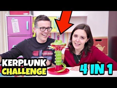 KERPLUNK TOY CHALLENGE: 4 sfide al gioco delle BIGLIE CADENTI