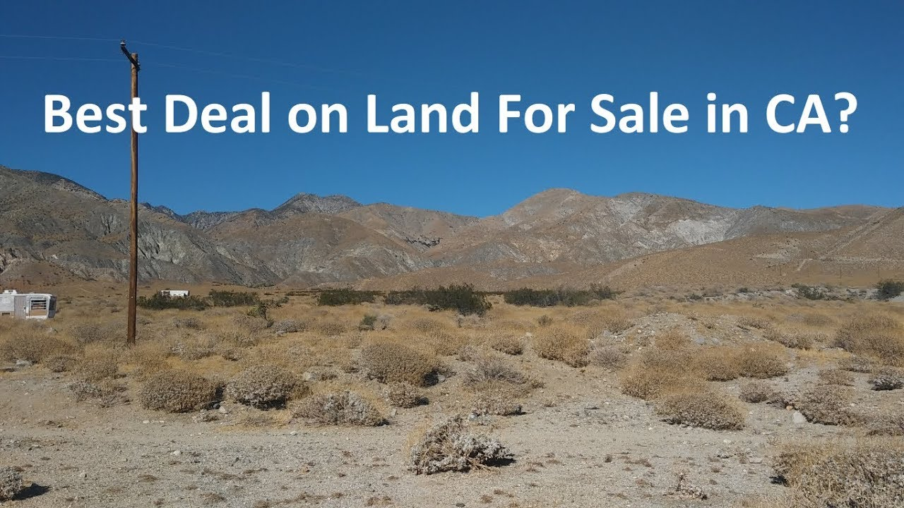 Is this the Best Deal on Land For Sale in California?
