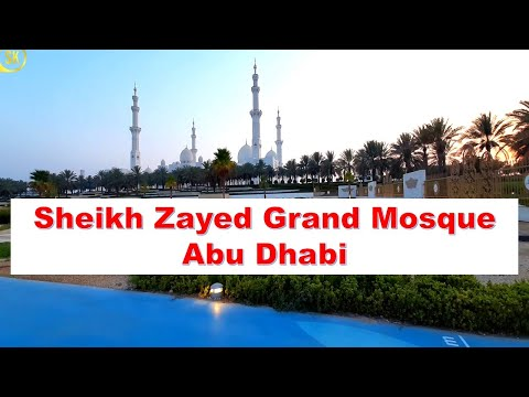 Visit to Sheikh Zayed Grand Mosque during Covid 19 || UAE 2021