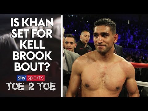 We ask Amir Khan if he'll fight Kell Brook  Toe 2 Toe Extra