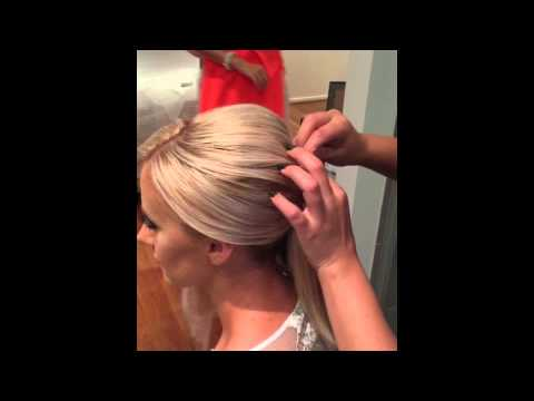 How to do a Bridal Sleek Bun by KYK the FULL TUTORIAL here!!