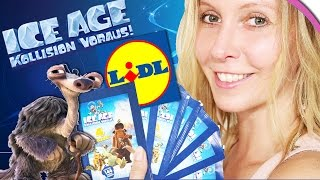 ICE AGE 5 Kollision voraus! Unboxing LIDL Sticker | 7 Booster Opening