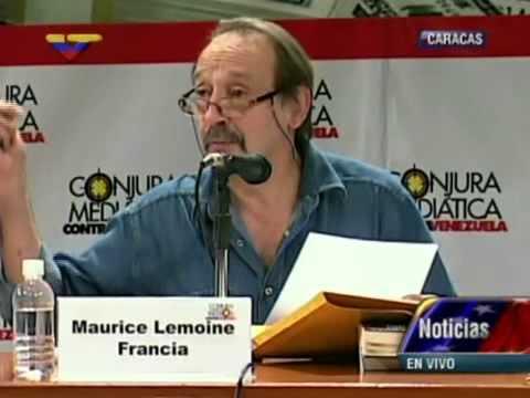 Foro Conjura Mediática: Intervención de Maurice Lemoine