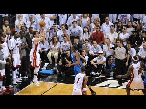 Heat have historic NBA finals night from downtown!