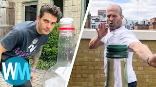 TOP 10 des BOTTLE CAP CHALLENGES de STARS !