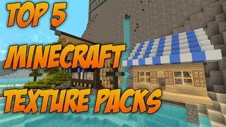 Minecraft: Top 5 Resource Packs 1.8.8 [Texture Packs]
