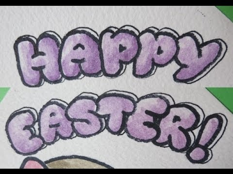 How To Write Happy Easter