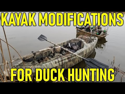 Kayak Modifications For Duck Hunting | Hunting Boot Camp