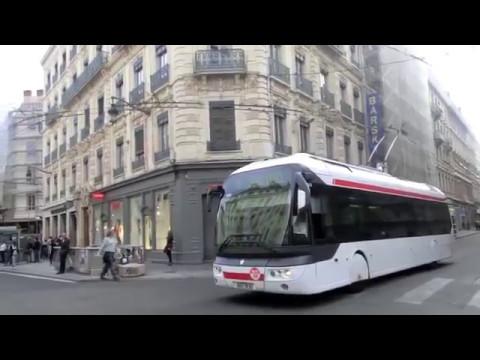 Les trolleybus TCL de lyon