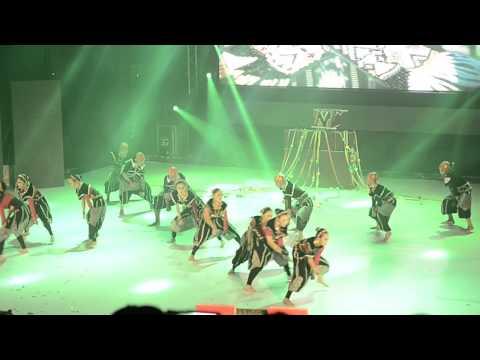 GOLD AWARD sabah international Folklore 2014 -SMK LABUAN