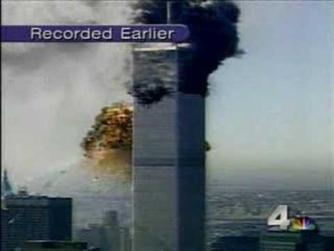 Flight 175's Impact From A NY Local News Station ...