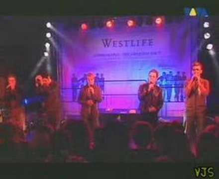 Westlife tonight (live)