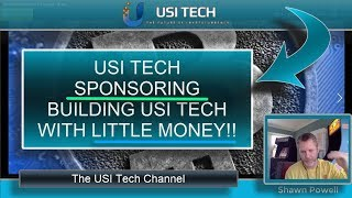 USI TECH SPONSORING - HOW TO BUILD YOUR USI TECH WITH LITTLE MONEY!