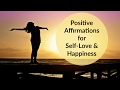 Positive Thinking Affirmations- Powerful Affirmations to Increase Confidence, Happiness and Love