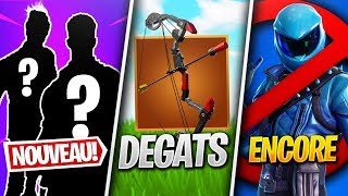STATS of the ARC EXPLOSIVE, SKIN HONOR DEACTIVATEd (again) - More on FORTNITE! (Fortnite News)