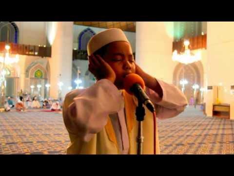 Amnan Azan Makkah di Masjid Negeri Shah Alam