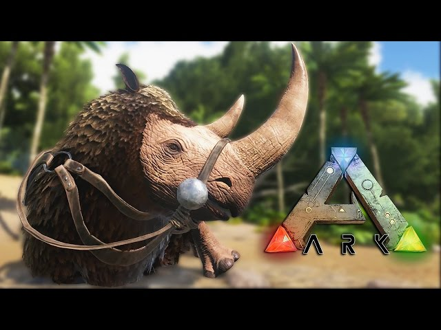 Ark Survival Evolved #28 Prezivljavanje - NOSOROG! (Woolly Rhinoceros)