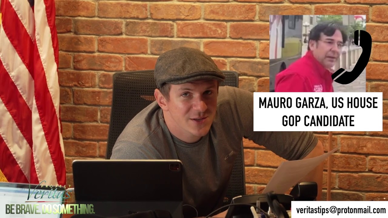 James O'Keefe: U.S. Congressional Candidate Mauro Garza Had A Lot More to Say on the Phone Than He Did in Person
