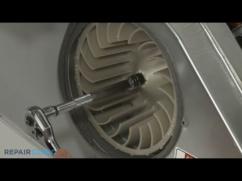 Dryer Blower Wheel Replacement - Electric Washer/Dryer Combo (Model #WET4027EW0)