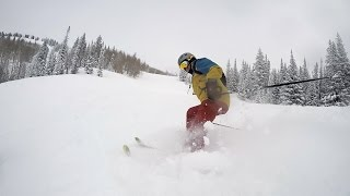 snowboarding in colorado somewhere in paradise chance the rapper